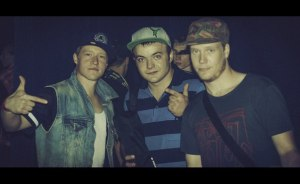 Bboy Focus (FloMo / Finland) , b-boy andru , Bboy Menno (Hustle Kidz/ Netherlands)